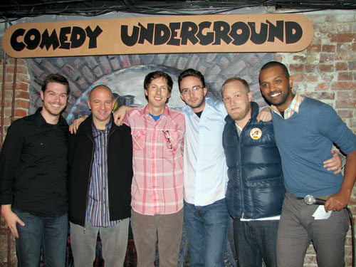 Comedy Underground Top 5